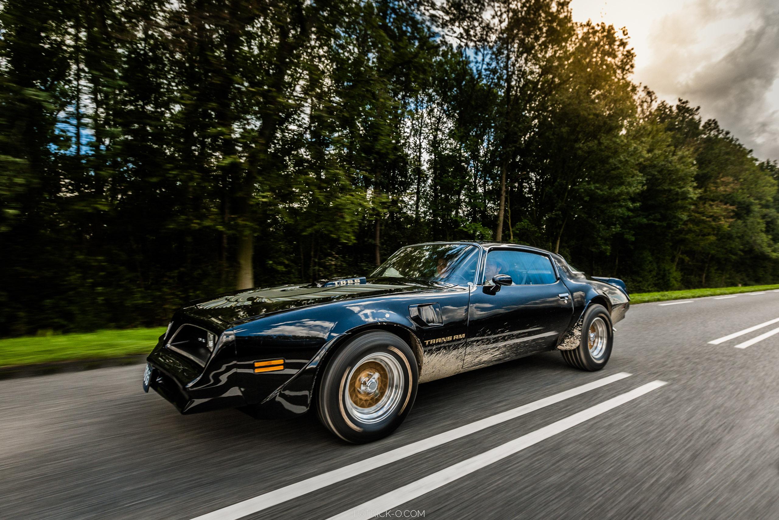 Trouwauto Pontiac Trans Am