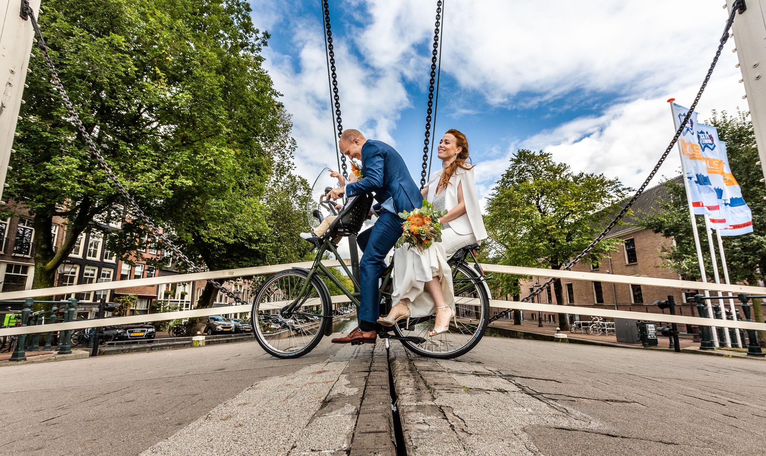 Huwelijksfotograaf in Amsterdam