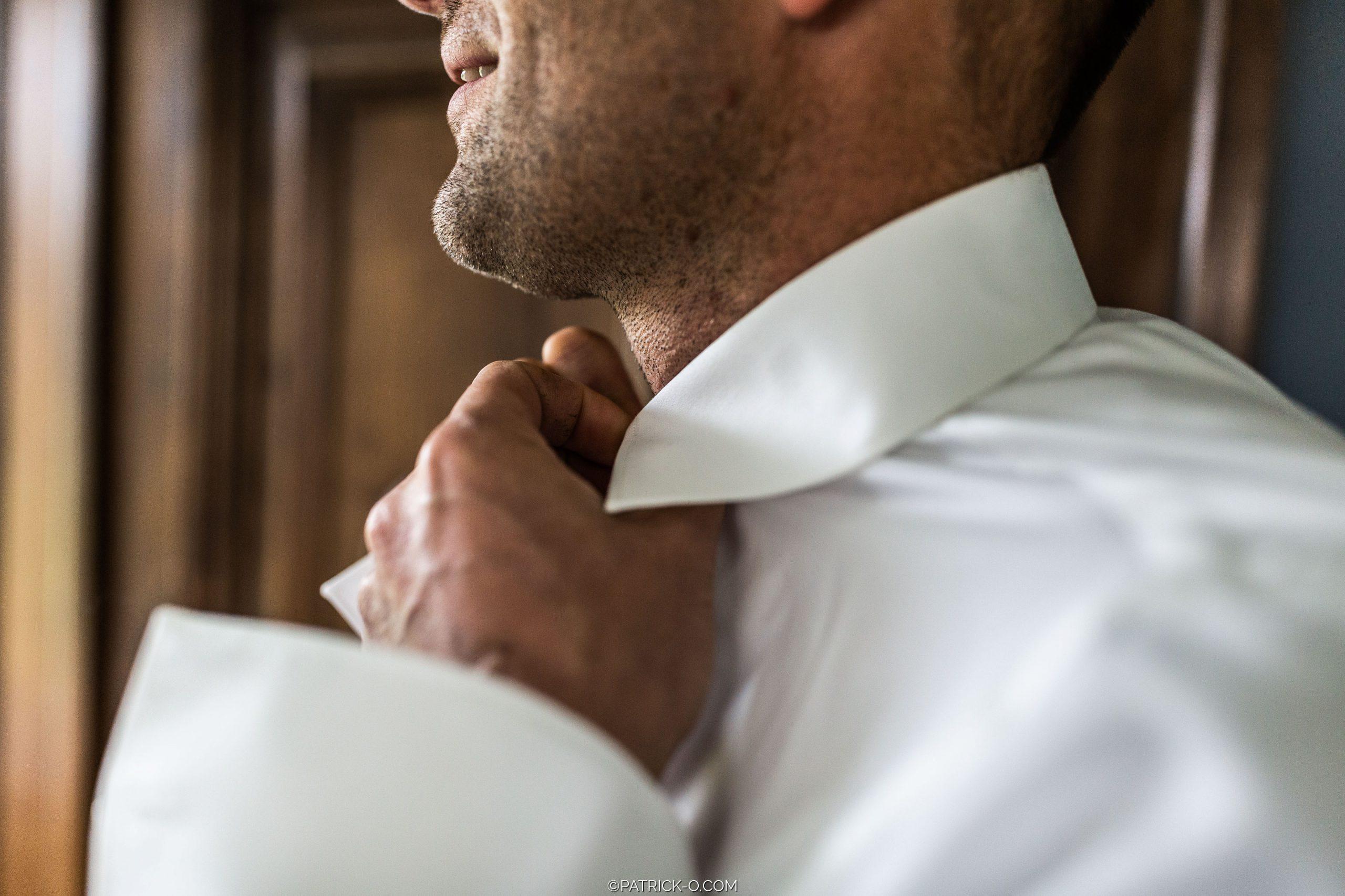 Aankleden voor de bruiloft