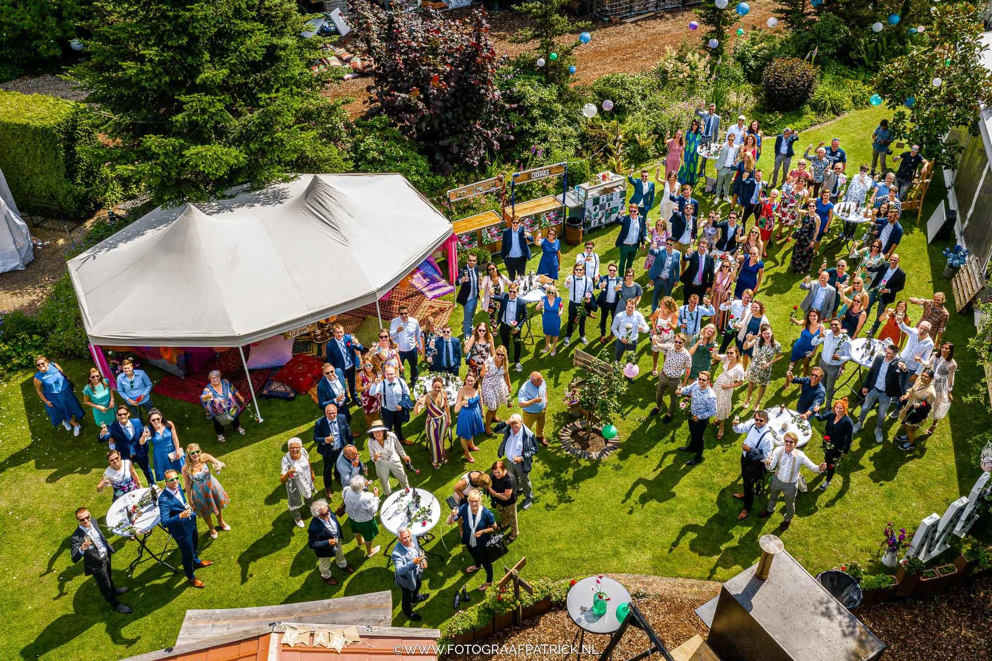 Drone bruiloft
